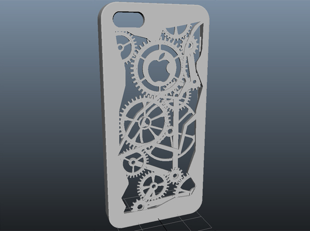 Iphone 5 Case - Gears 3d printed