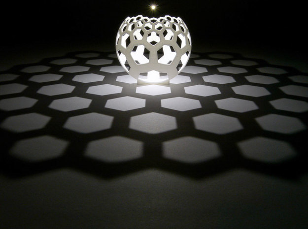 Honeycomb (stereographic projection)