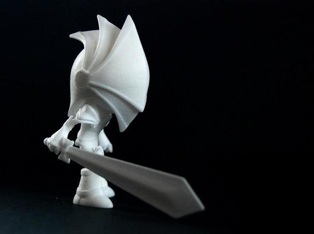 "Blind Knight 3d printed -""Ready !"""