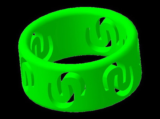 Ring of luck 3d printed Ring of luck