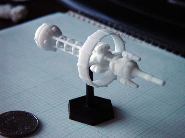 Belter Cruiser 3d printed Printed Belter Cruiser in WS&F.