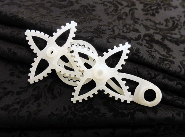 XGear Fidget Widget 3d printed Photo of Original Concept used for Validating this Design