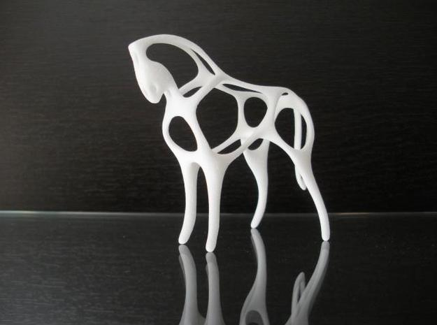 Horse 3d printed Description