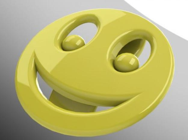 Smiley Emotibotton 3d printed Description