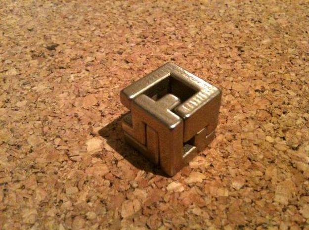 Insinuate puzzle 3d printed Closed