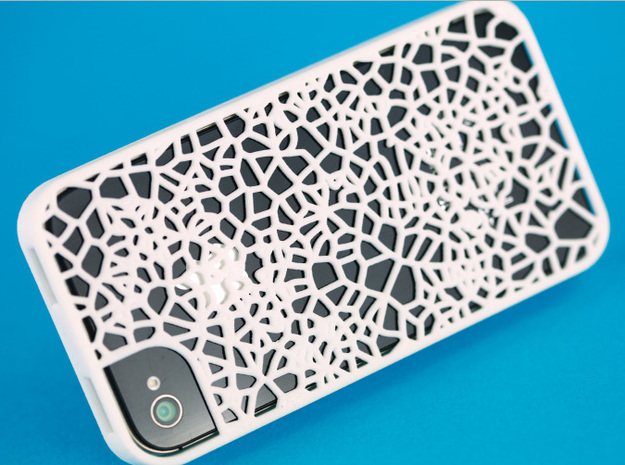 Organic texture iphone 4s cover 3d printed Organic texture iphone 4s cover