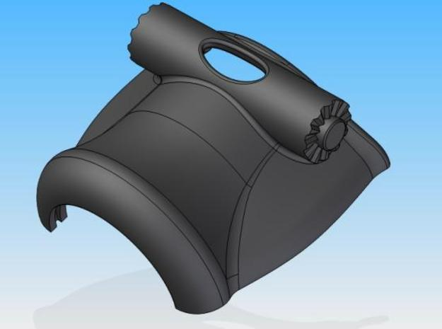 LHL-Lower shell 3d printed Description