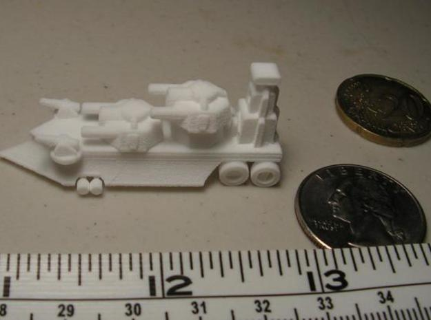 Gothic Artillery x3 3d printed Side View