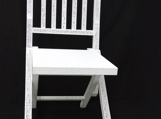 One and One Chair (Base) 3d printed 3d print