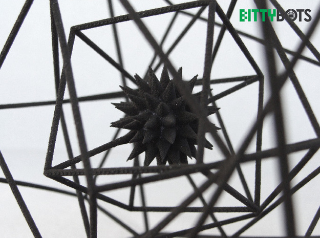 Spatial Anomaly 3d printed Detail view of the core