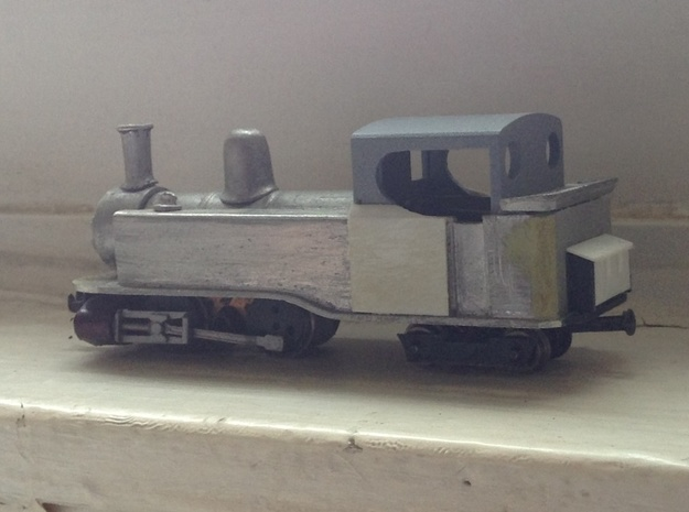 Single Fairlie cab conversion for Taliesin 009 3d printed