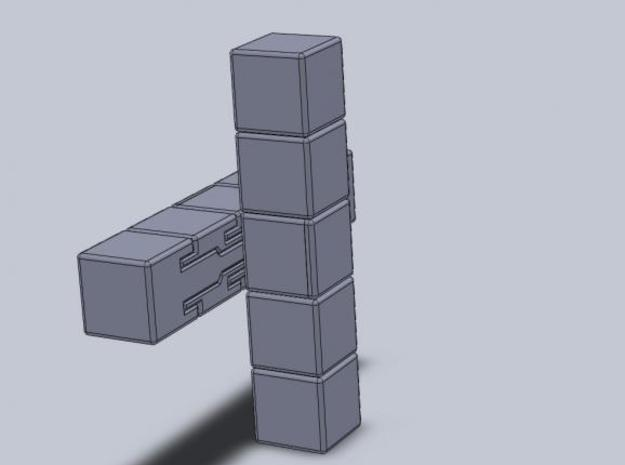 1x2x5 Cuboid 3d printed Description