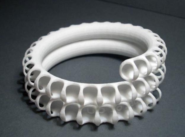 Fossil Coil lite 3d printed photo