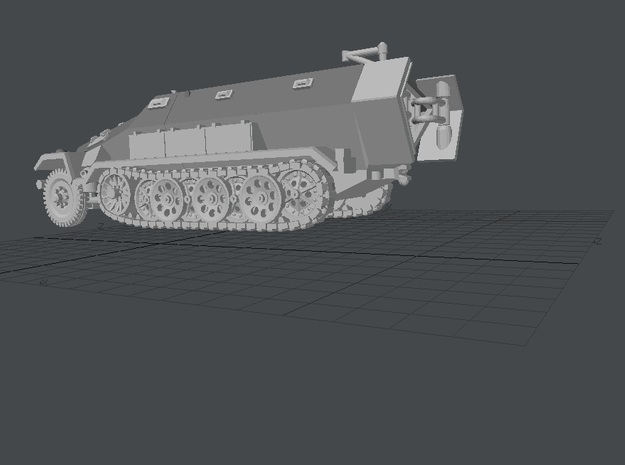 GAV-SD-KFZ-251-1-A--72-20131009d-triple 3d printed Add a caption...