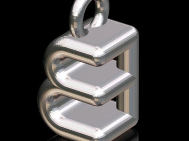 EEB #3 (3-d Logotype) 3d printed Description