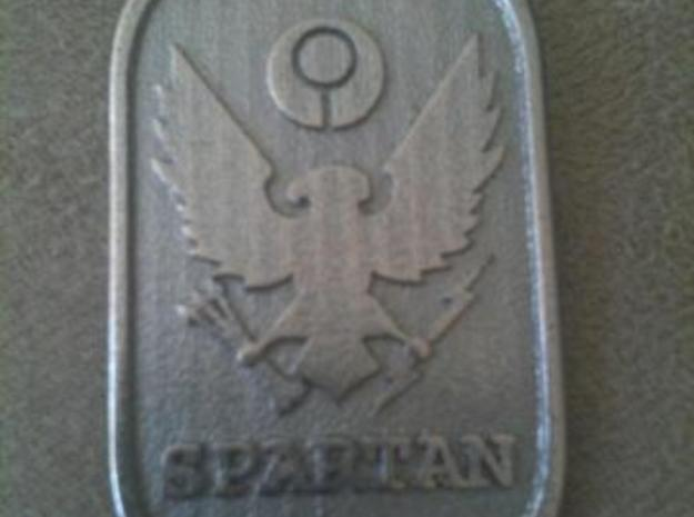 Mid7night Spartan-Noble tags 3d printed Spartan