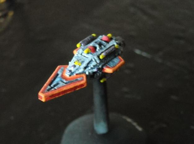 VA105 Fierce Thrust Frigate 3d printed Painted model