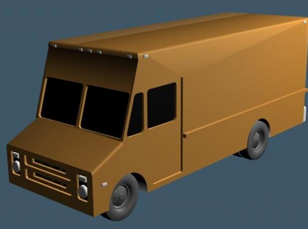 Stepvan 15 - Zscale 3d printed Color Render