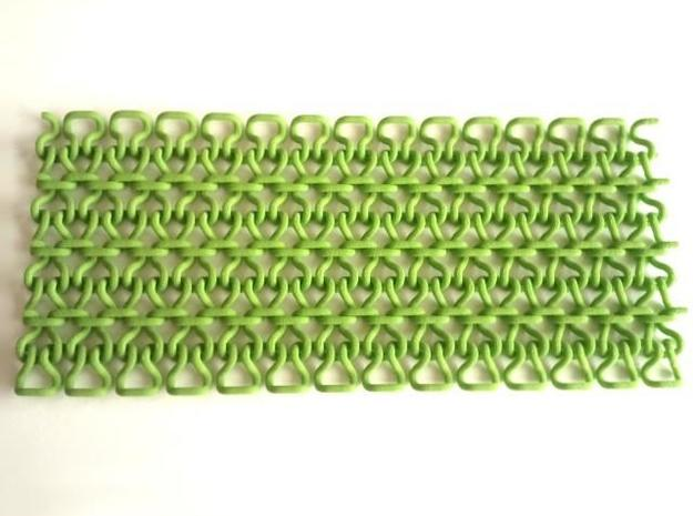 Stitch Fabric 3d printed In Summer Green