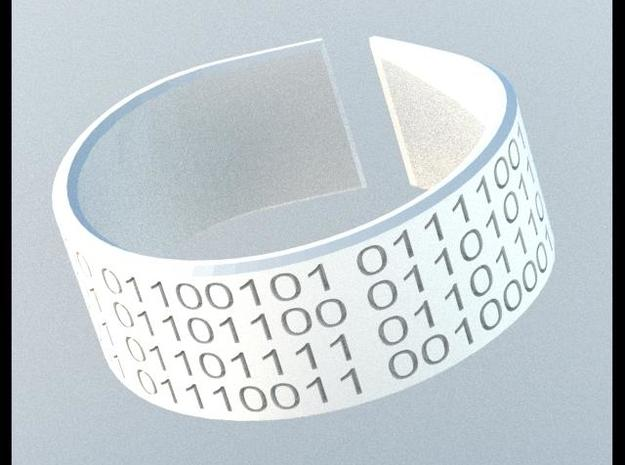 They Walk Among Us!! - Bracelet 3d printed Rendered image.