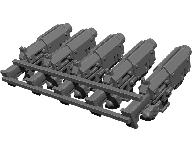 Slug Rifle Weapons Pack 3d printed
