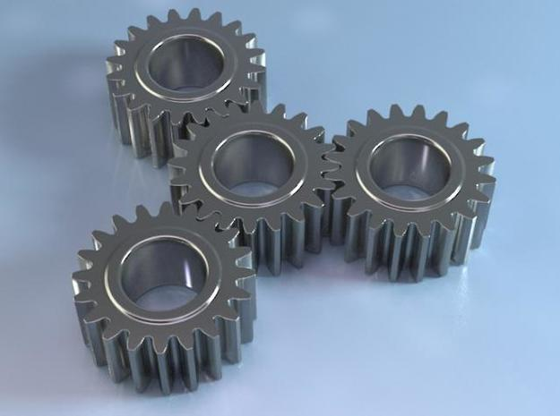 spur gear 3d printed Description