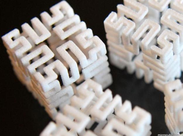4 Springy Cubes 3d printed 4 springy cubes