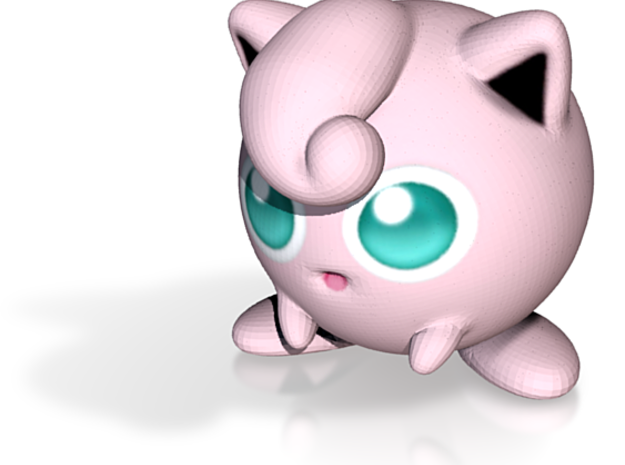 Good Night with JigglyPuff - 41mm 3d printed