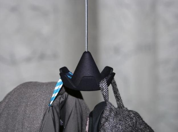 Sombrero / coat rack 3d printed Sombrero and two coats