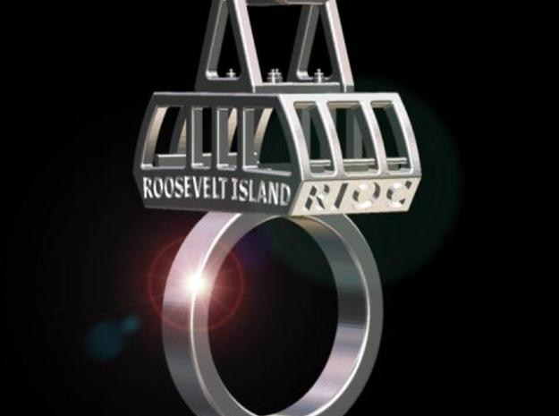 The New (2010) Roosevelt Island Tram Ring 3d printed Description