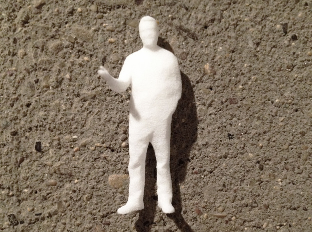 Architectural Man - 1:50 - Presenting 3d printed Front
