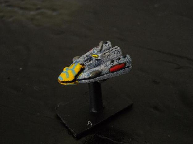 SSA103 Riposte Frigate 3d printed Painted model