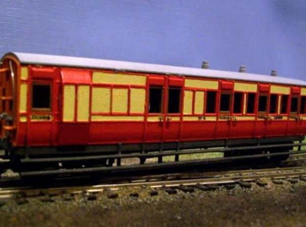 4mm scale OOn3 / 0012 LBER Brake Third Carriage 3d printed Description