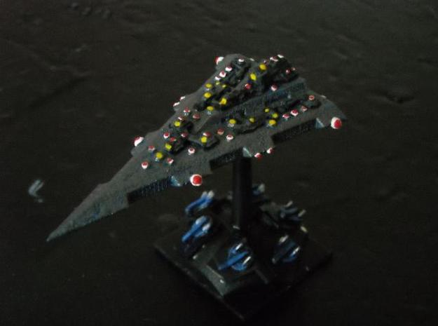 GDH:D301 Delta Battlecruiser 3d printed Painted model (Fighters by Irregular Miniatures)