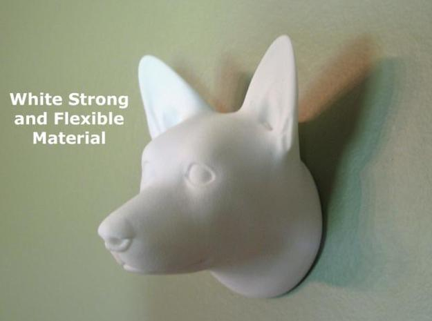Corgi Wall Sculpture 3d printed Description
