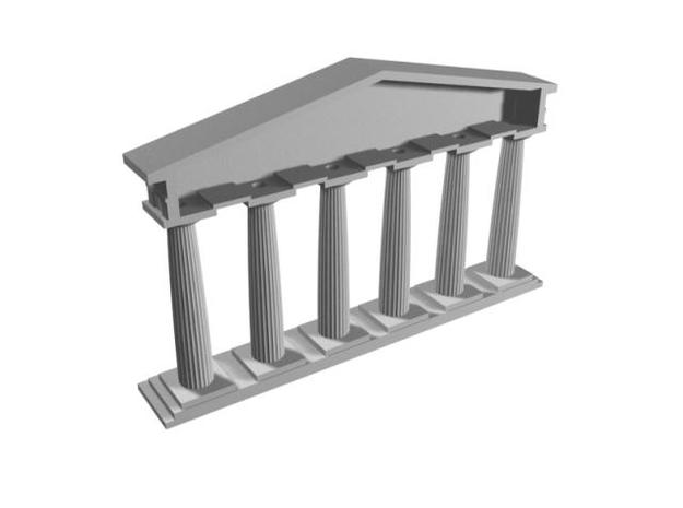 Doric 3d printed Description