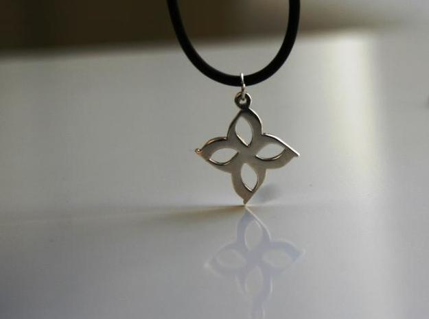 Atco Pendant (1 inch) 3d printed Silver Hanging