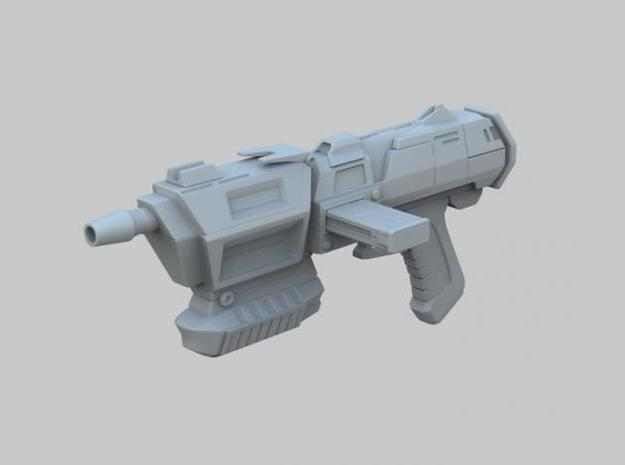 Assault Blaster 3d printed Perspective View