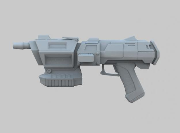 Assault Blaster 3d printed Left View