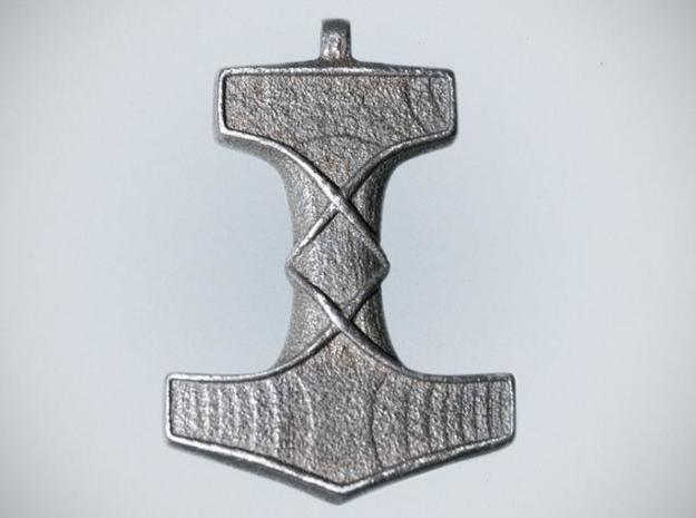 Mjolnir 3d printed stainless steel