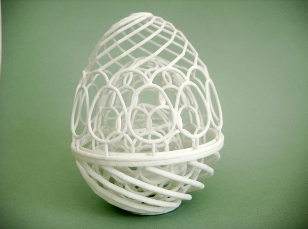 Nested Eggs 3d printed All eggs nested within.
