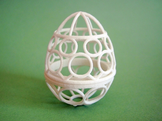 Nested Eggs 3d printed Smallest.
