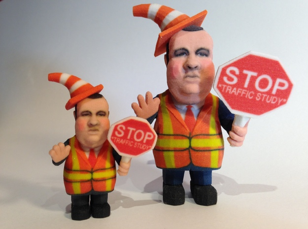 Small - Chris Christie directing traffic BridgeGat