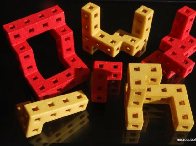 Roll Up! Roll Up! 3d printed Cube pieces