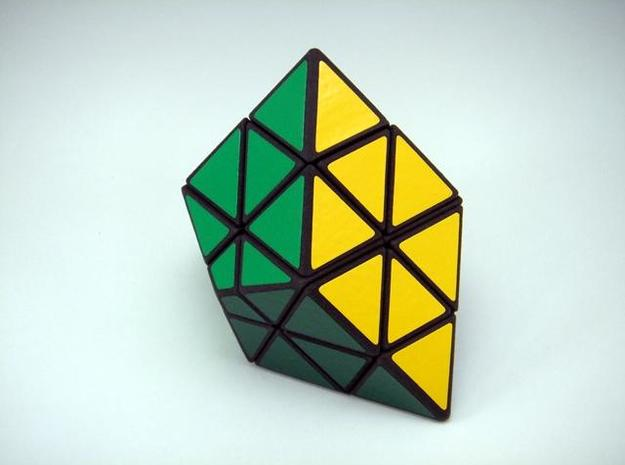 Ice-9 Puzzle 3d printed Yellow Side