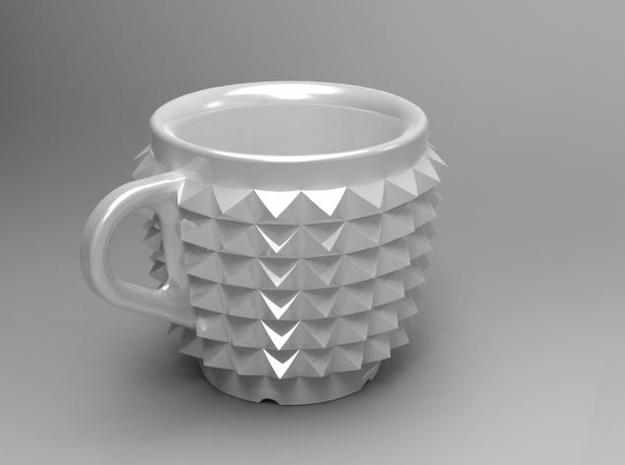 one cup a day | Day 02: Studded Belt Cup 3d printed Studded Belt Cup