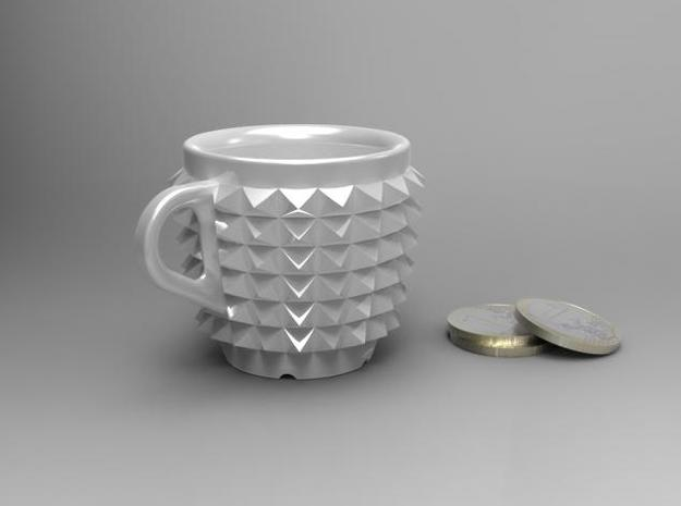 one cup a day | Day 02: Studded Belt Cup 3d printed Studded Belt | size
