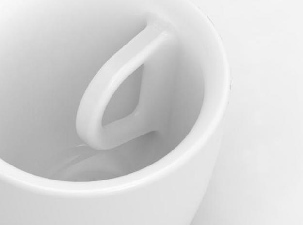 one cup a day | Day 11: Hard to Handle Cup 3d printed handle detail