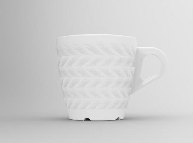 one cup a day | Day 12: ZigZag Cup 3d printed front