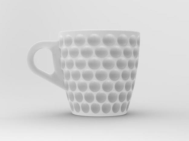one cup a day | Day 28: Golf Ball Cup 3d printed front